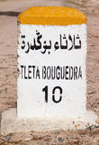 Milstolpe Safi, Marocko Royaltyfri Foto