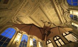 Milt Ader flygplan, Musee des-konster et metiers, Paris arkivbild