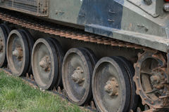 Miltary tracked vehicle Stock Images