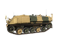 Miltary troop carrier Stock Images