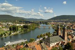 Miltenberg Panorama Stock Images