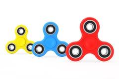 Milticolour-Unruhe-Finger-Spinner-Antistress Spielzeug Wiedergabe 3d Stockfotografie