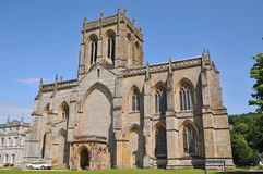 Milton Abbey Stock Image