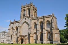 Milton Abbey. Near Milton Abbas at the private school Dorset Stock Image