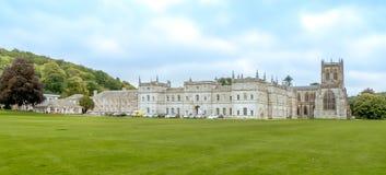 Milton opactwa szkoła i opactwo Zdjęcie Royalty Free