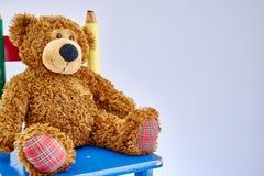 Milutki zabawka niedźwiedź Obrazy Stock