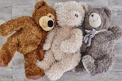 Milutki zabawka niedźwiedź Fotografia Royalty Free