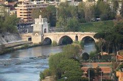 Milvio bridge Royalty Free Stock Images