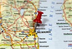 Milwaukee в Висконсине, США стоковая фотография