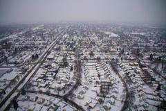Milwaukee в зиме Стоковые Фотографии RF