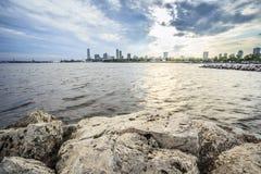 Горизонт Milwaukee, Висконсин, США Стоковая Фотография