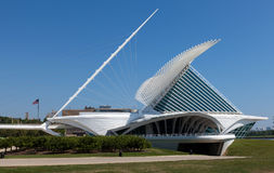 Milwaukee Art Museum Foto de Stock Royalty Free