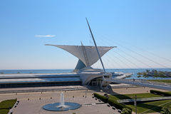 Milwaukee Art Museum Lizenzfreies Stockfoto