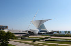 Milwaukee Art Museum Royaltyfri Fotografi