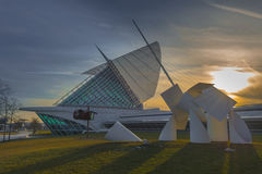 Milwaukee Art Museum Arkivfoton