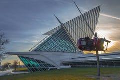 Milwaukee Art Museum Fotografia Stock Libera da Diritti