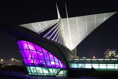 Milwaukee Art Museum imagens de stock royalty free