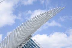 Milwaukee Art Museum vinge Arkivfoton