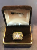 1957 Milwaukee Braves World Series Championship Ring Royalty Free Stock Photo