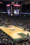 Milwaukee Bucks NBA Basketball Bradley Center. The Milwaukee Bucks take on the Philadelphia 76ers at the Bradley Center in downtown, Milwaukee, Wisconsin royalty free stock photography