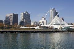 Milwaukee céntrico Wisconsin fotografía de archivo