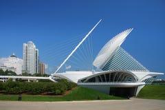 Milwaukee calatrava. Detail from the Milwaukee calatrava Stock Photos