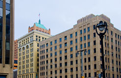 Milwaukee downtown Stock Photography