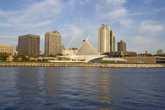 Milwaukee du centre, le Wisconsin. Photos stock