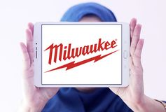 Milwaukee Elkraft Bearbeta Korporation logo arkivfoton