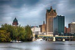 Milwaukee horisont Royaltyfria Foton
