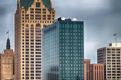 Milwaukee horisont Arkivbilder