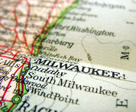 Milwaukee, le Wisconsin Photo stock