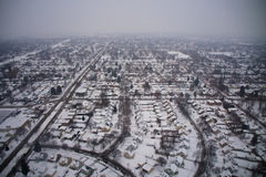 Milwaukee no inverno fotos de stock royalty free