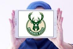 Milwaukee oppose le logo d'équipe de basket Photographie stock