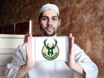 Milwaukee oppose le logo d'équipe de basket Photo libre de droits