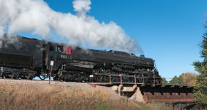 Milwaukee Road #261 - Andover Royalty Free Stock Image