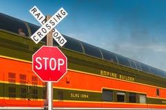 Milwaukee Road #261 - Brook Park Crossing 2014 Royalty Free Stock Photos