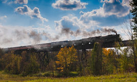 Milwaukee Road #261 - Superior Trestle 2014 Stock Photo
