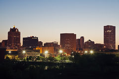 Milwaukee skyline Stock Images