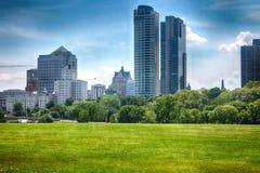 Milwaukee-Skyline Lizenzfreie Stockbilder