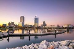 Milwaukee skyline Royalty Free Stock Photography