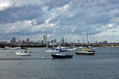Milwaukee skyline Royalty Free Stock Image