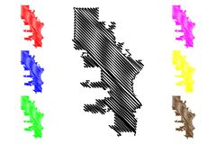 Milwaukee-Stadtplanvektor vektor abbildung