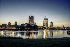 Milwaukee at Sunset Stock Image