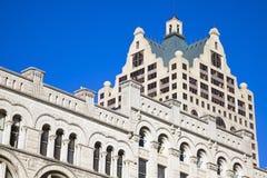 Milwaukee - viejo y nuevo fotos de archivo libres de regalías