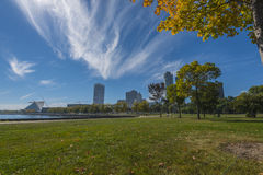 Milwaukee Wisconsin auf Sunny Day Stockfoto
