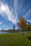 Milwaukee Wisconsin auf Sunny Day Stockfoto