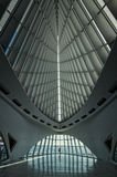 MILWAUKEE, WISCONSIN - 15 JULY: Interior of the Milwaukee Art Mu Royalty Free Stock Photo