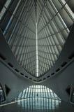 MILWAUKEE, WISCONSIN - 15 JULY: Interior of the Milwaukee Art Mu Royalty Free Stock Photo
