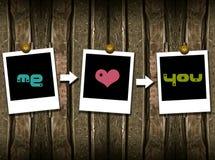 Mim amor você Fotos de Stock